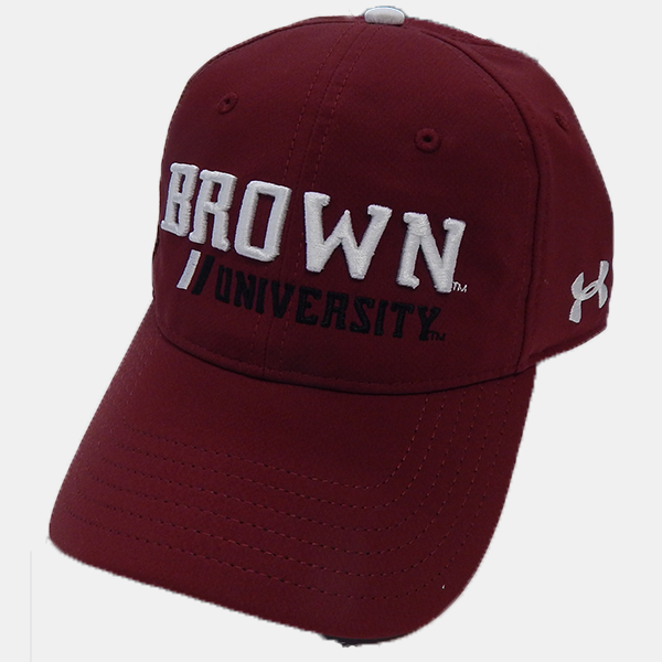 Image For Under Armour Cardinal Brown Univ. Cap
