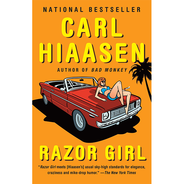Cover Image For <I>Razor Girl</I>