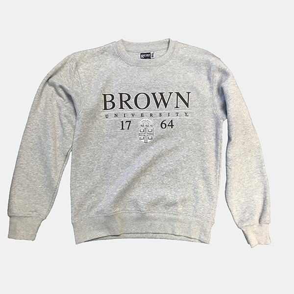 Image For Gear Big Cotton Grey Crest Crew Sweatshirt - 47.99/49.99