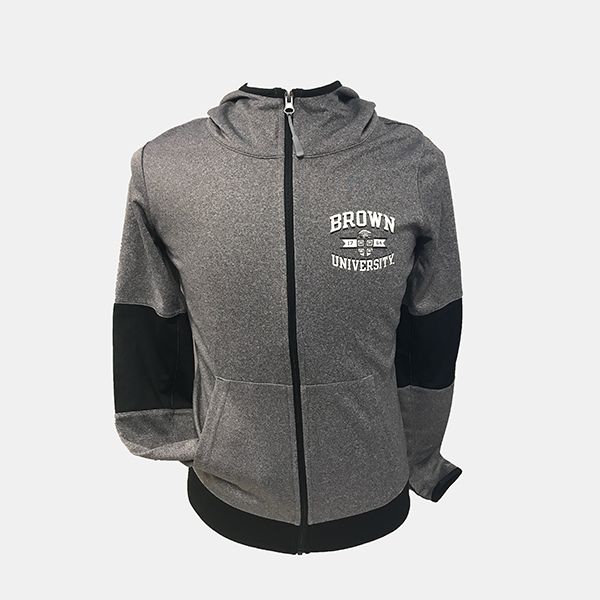 Image For Champion Gray Convergence Zip Women's Jacket - $54.99
