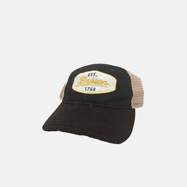 Image For Champion Brown Trucker Mesh Cap