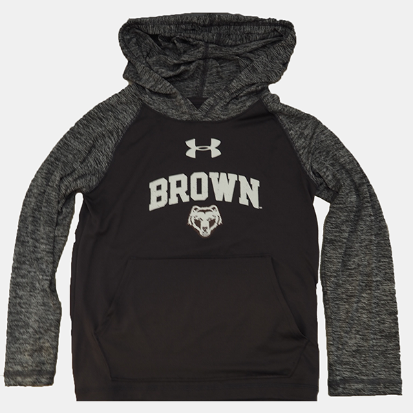 Image For Under Armour Youth Hooded Heather Sweatshirt - $46.99