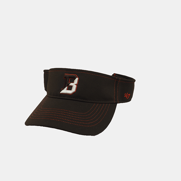 Image For 47 Brand Brown Defiance Visor