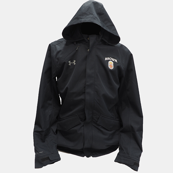 Image For Under Armour 3-in-1 ColdGear Hooded Black Coat - $225.99