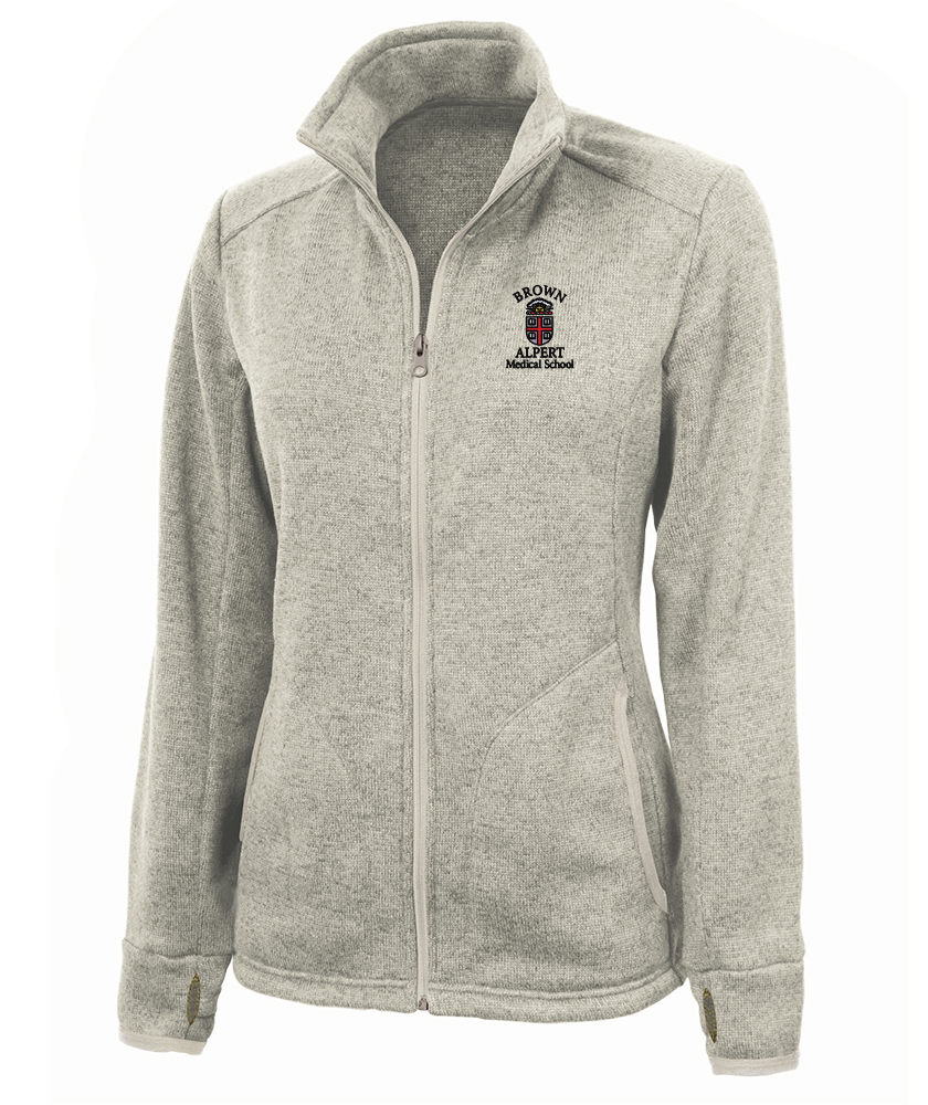 Image For Charles River AMS Women's Full Zip Fleece