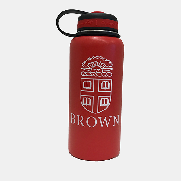 Image For Water Bottle - 32oz Red Stainless Steel Campus Bottle