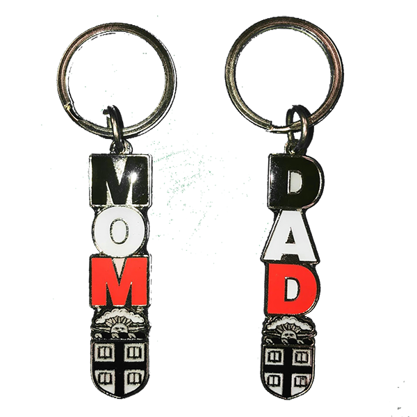 Image For Dangle Mom/Dad Keytag