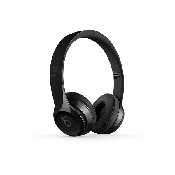 Image For Beats Solo³ Wireless Headphones - Gloss Black