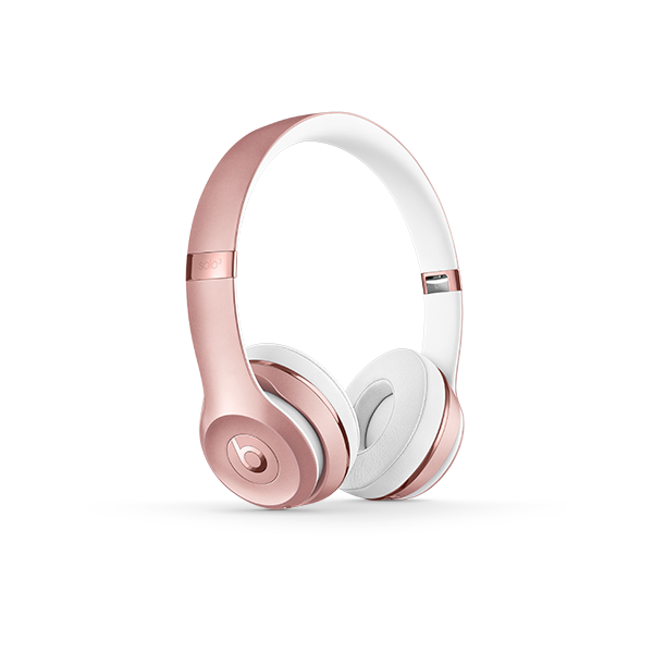 Image For Beats Solo³ Wireless Headphones - Rose Gold