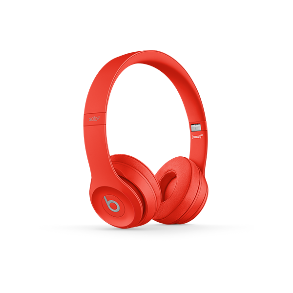 Image For Beats Solo³ Wireless Headphones - (PRODUCT)Red