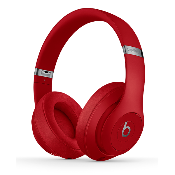 Image For Beats Studio³ Wireless Headphones - Red