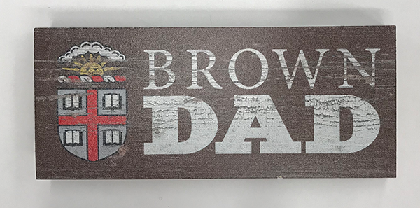 "Image For 6"" 'Brown Dad' Wooden Sign"