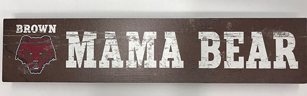 "Image For 12"" 'Mama Bear' Wooden Sign"