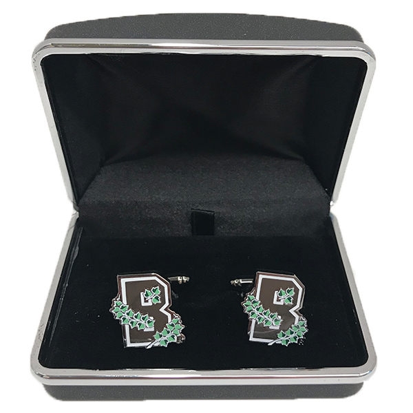Image For Brass Cufflinks - Ivy B