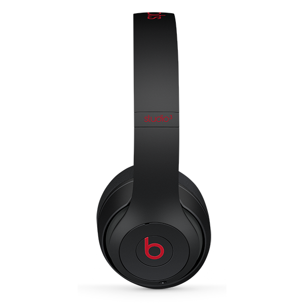 Image For Beats Studio³ Wireless Headphones - Defiant Black-Red