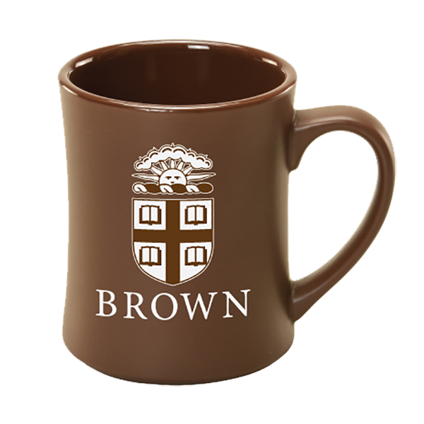 Image For Matte Brown Mug with Etched Crest