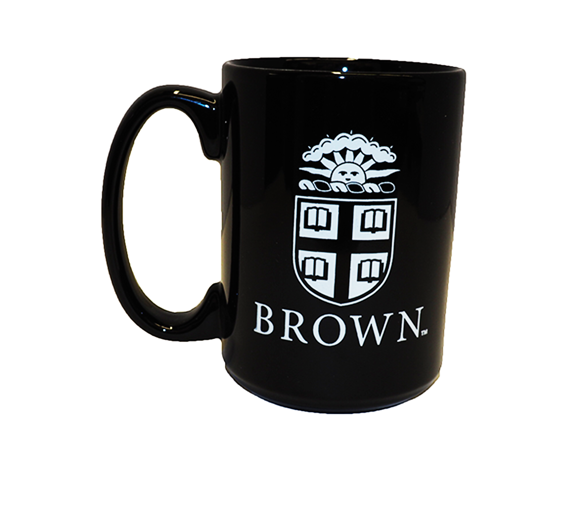 Image For El Grande Black Oval Medallion Double Imprinted Mug