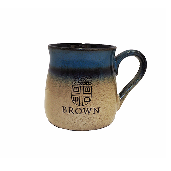 Image For Tavern Pottery Mug - Brown Crest