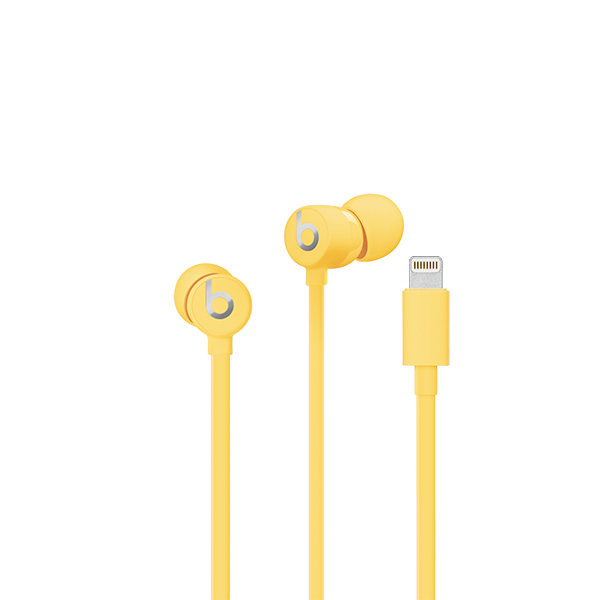 Image For urBeats³ Earphones with Lightning Connector - Yellow