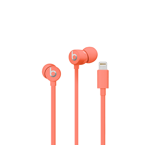 Image For urBeats³ Earphones with Lightning Connector - Coral