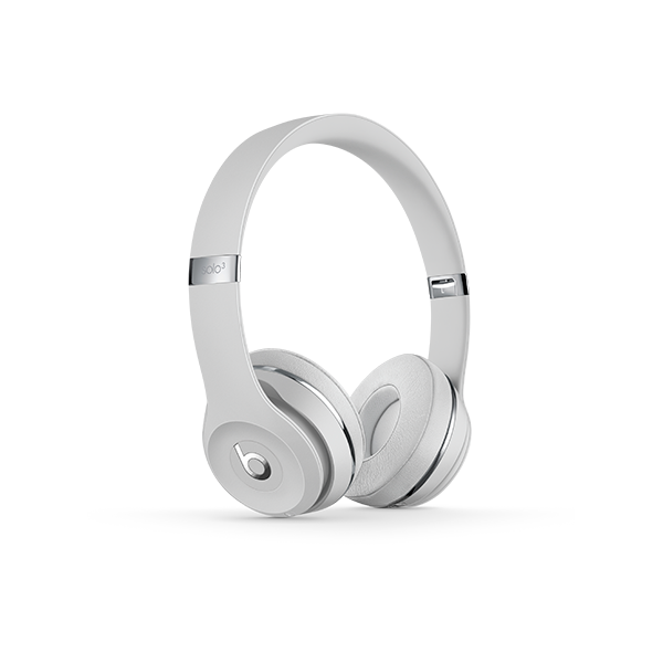 Image For Beats Solo³ Wireless Headphones - Satin Silver