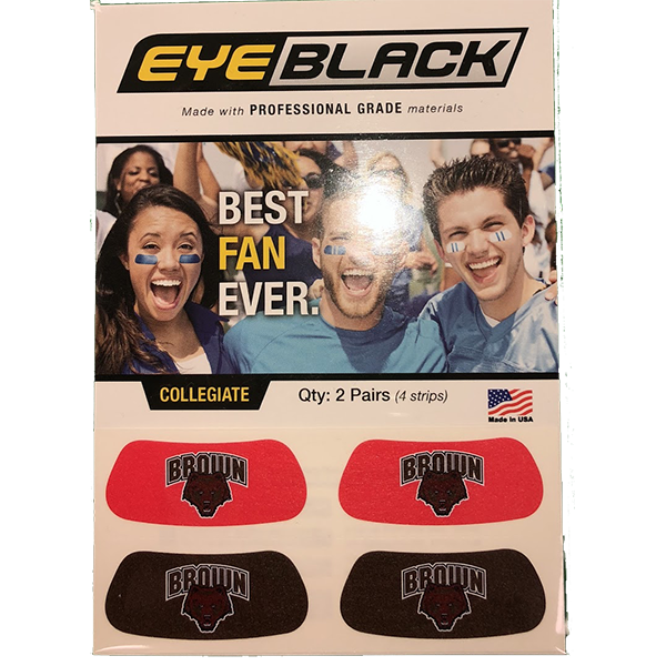 Image For Eye Black Temporary Tattoo