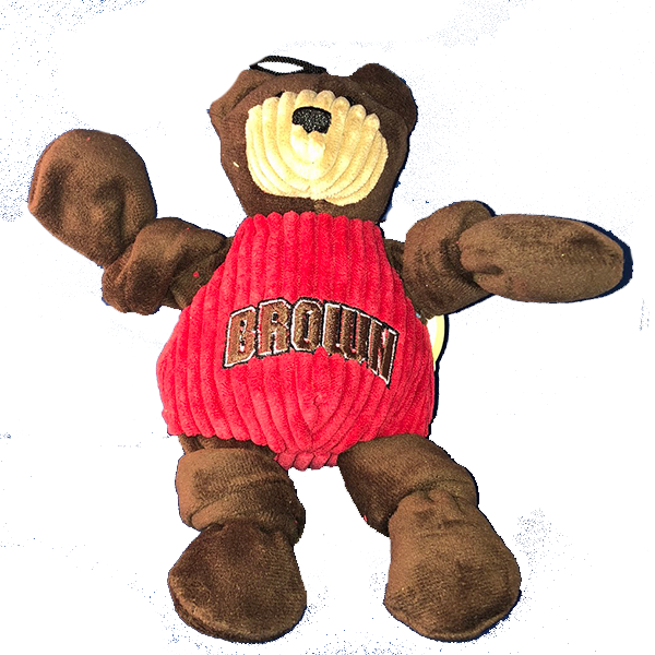 Image For Bruno the Bear Small Pet Toy