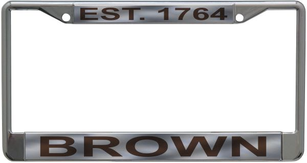 Image For Acrylic License Plate - 'Est. 1764'