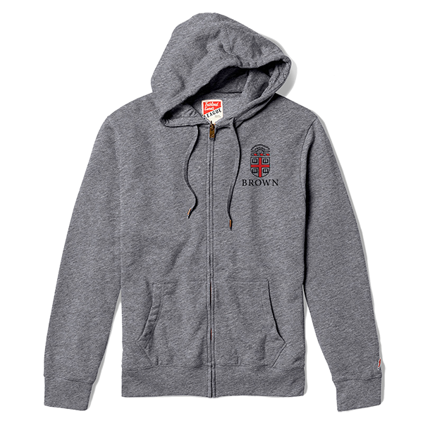 Image For League Heritage Full Zip - Heather Gray