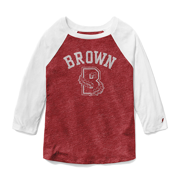 Image For League Intramural Baseball Tee - Red