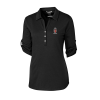 Cutter & Buck Ladies Thrive Polo - Black or White Image