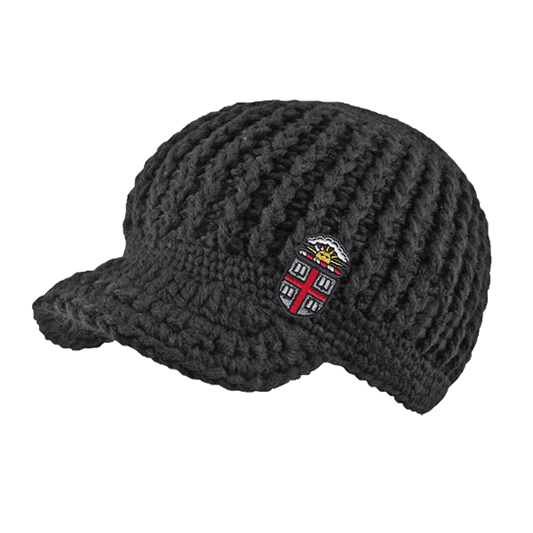 Image For Logofit Posh Brimmed Knit Hat