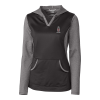 Cutter & Buck Ladies Tackle Hoodie - Charcoal or Cardinal Image