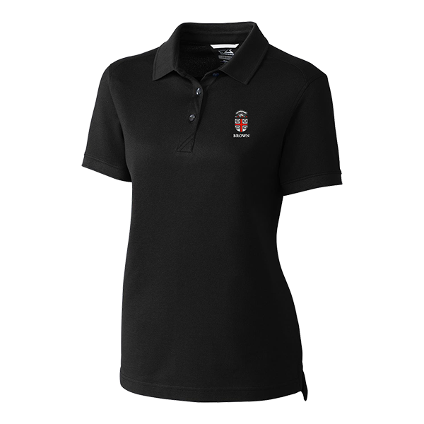 Image For Cutter & Buck Ladies Advantage Polo - Black or Cardinal