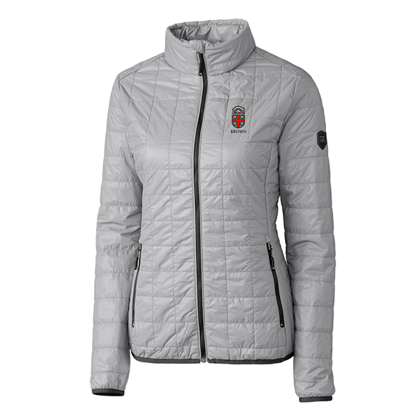 Image For Cutter & Buck Women's Rainier Jacket - Silver