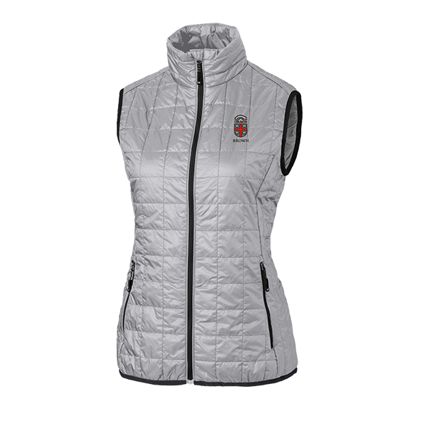 Image For Cutter & Buck Women's Rainier Vest - Silver