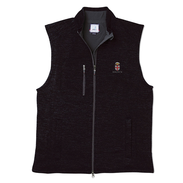Image For Johnnie-O Tahoe Vest - Black