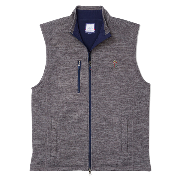 Image For Johnnie-O Tahoe Vest - Quarry