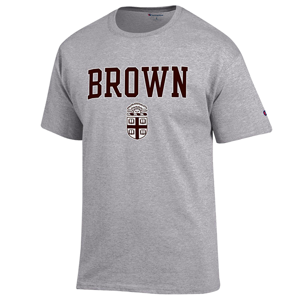 Image For Champion Brown University Crest Tee