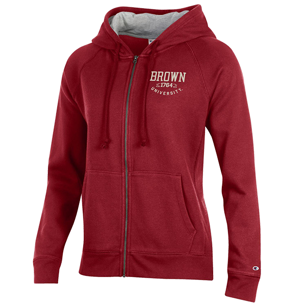 Image For Champion Women's Full Zip Hoodie w/1764