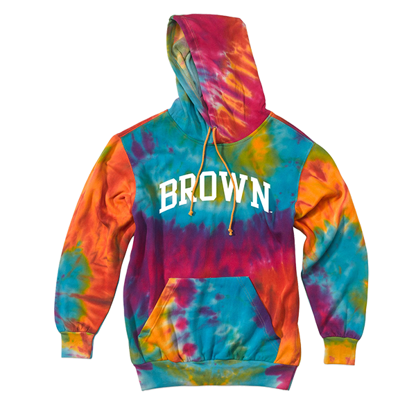 Image For MV Rainbow Tie Dyed Hoodie
