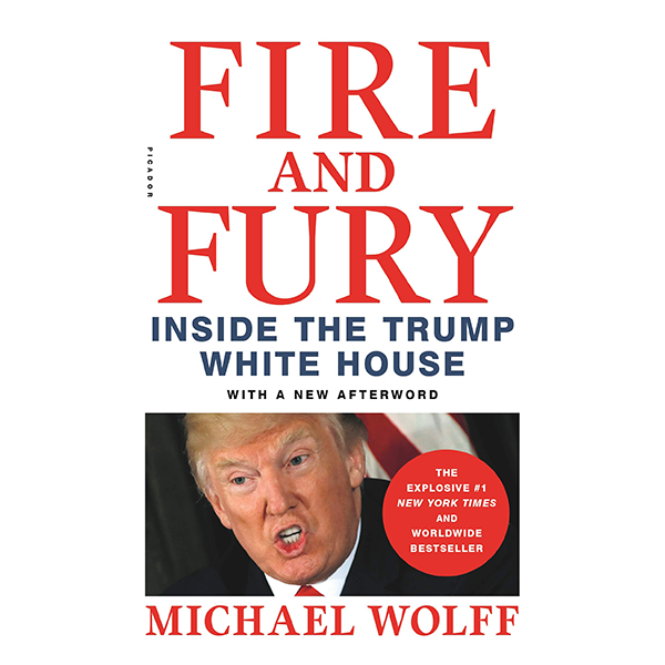 Cover Image For <I>Fire and Fury</I>