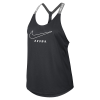 Cover Image for Nike Women's Dry Elasta-Tank - Anthracite or Gray