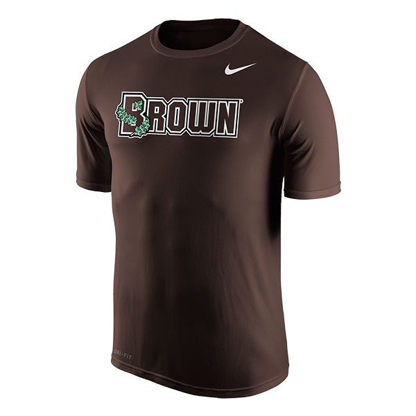 Image For Nike Men's Short Sleeve Tee - White or Brown