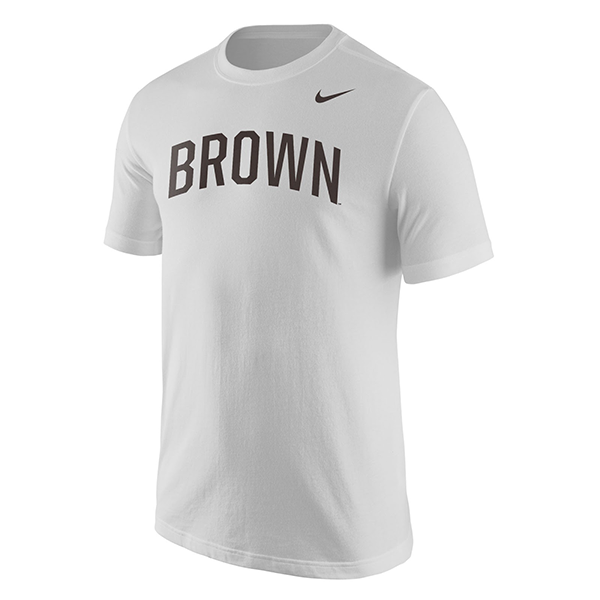 Image For Nike Men's Core Short Sleeve Tee - Brown or White