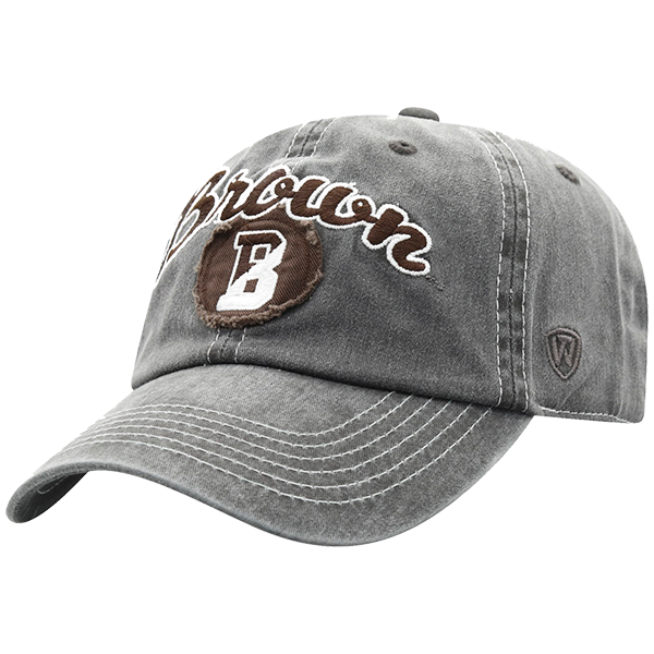 Image For Top of the World Heavy Adjustable Cap - Charcoal