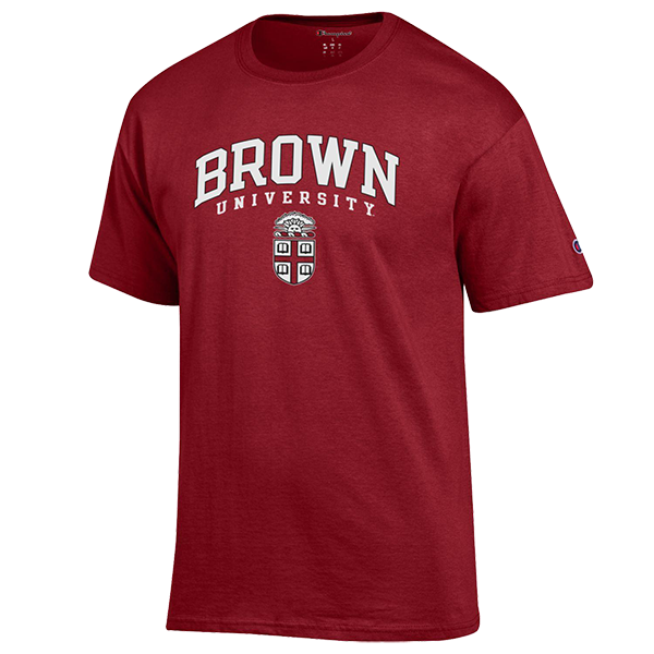 Cover Image For Champion Basic Tee w/Brown Over Crest