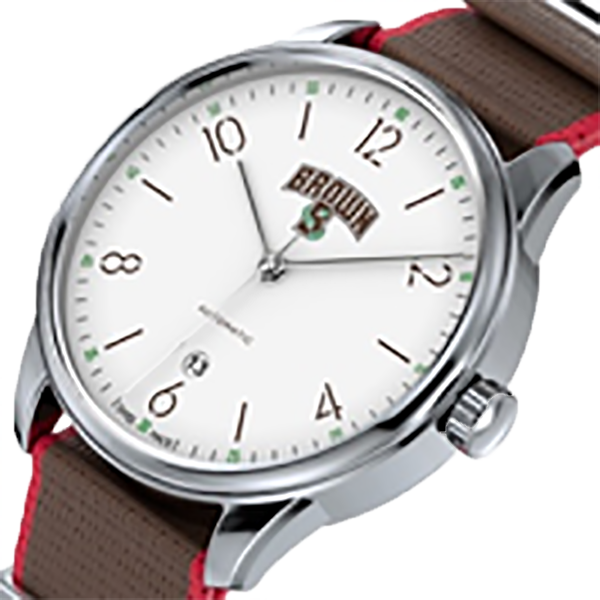Cover Image For AXIA Time Pathos White Dial Watch