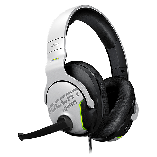 Image For ROCCAT Khan AIMO Headset - White