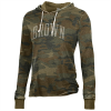 Alternative Apparel Day Off Hoodie - Camo and Black Image